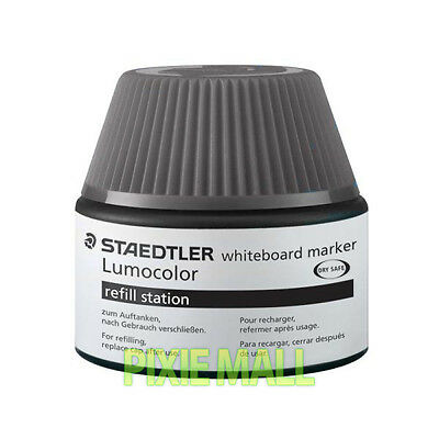 STAEDTLER 488 51-9 Lumocolor® whiteboard marker refill station 20ml - BLACK