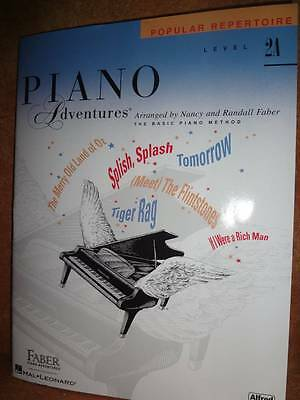 Faber Piano Adventures Popular Repertoire Level 2A Song Book