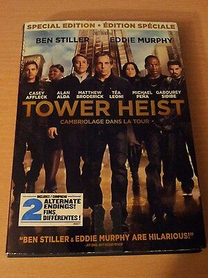 Tower Heist (DVD, 2012) SPECIAL EDITION