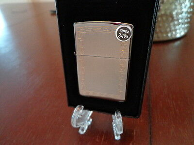 Greek Z #20900 Zippo Lighter Mint In Box