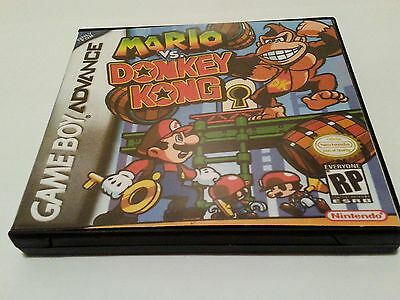 Mario Vs Donkey Kong High Quality Custom Collector Gameboy Advance GBA Case Only