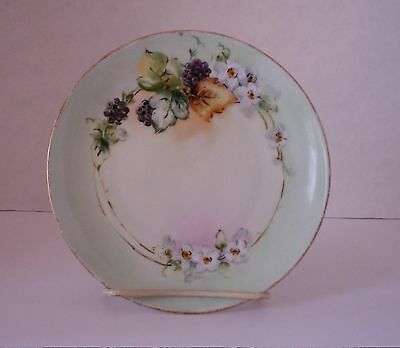 """M.W. Poole Hand Painted 6 1/4"""" Plate"""