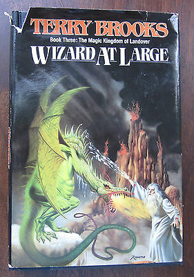 Wizard at Large Book 3: Magic Kingdom of Landover by Terry Brooks (1988 HC BCE)