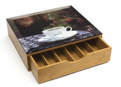 NEW Lipper International 8625 Bamboo Coffee Pod Drawer