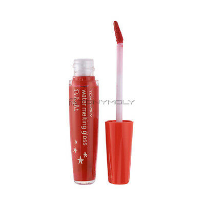 TONYMOLY DELIGHT WATER MELTING GLOSS #5 Melo Red (USA Seller)