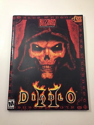 2000 DIABLO II 2 OFFICIAL STRATEGY GUIDE BART FARKAS PC VIDEO GAME BOOK COMPUTER