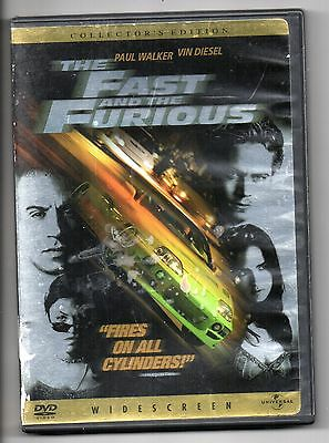 The Fast and the Furious (DVD, 2002) Paul Walker