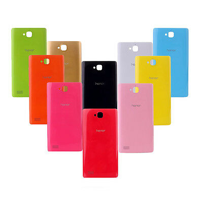 Candy Color Elegant Colorful Housing Battery PC Cover Case For Huawei Honor 3C