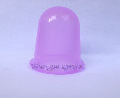 New Silicone Anti Cellulite Massage Vacuum Therapy Body And Facial Cups Cupping
