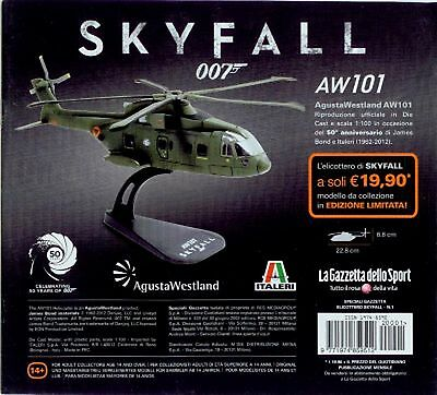 James Bond™ - Skyfall® - Helicopter AW101 (Limitierte Auflage) Maßstab 1:100
