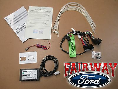 15 thru 17 F-150 OEM Ford Remote Access Phone Start & Security System Kit w/ LED