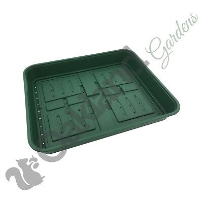 10 x 22cm Rigid Propagator Lid Seed Tray Tops Pots Trays Frost Protection Lids