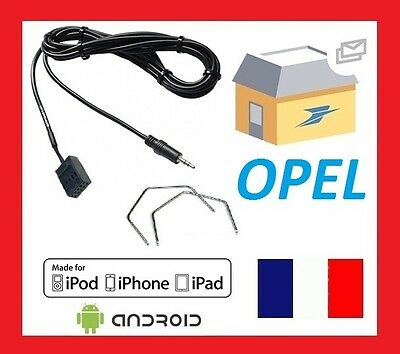 cable auxiliaire mp3 opel corsa astra vectra cable aux in 2 cles extraction eur 8 45. Black Bedroom Furniture Sets. Home Design Ideas