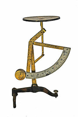 Vintage Pendulum Letter Scale by Ph. J. Maul, with German Postal Rates.