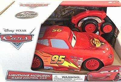 NEW Disney Pixar Cars Lightning Mcqueen Radio Control Car