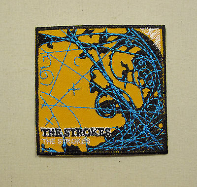 THE STROKES Embroidered Iron On/Sew On Patch  Rock Band