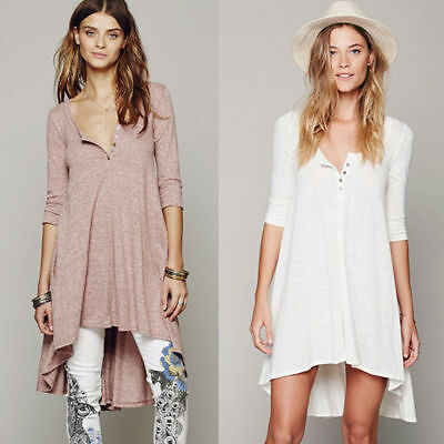 New Season FREE PEOPLE Drippy irregular Dress ~ Size S M L XL