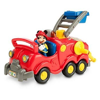 NEW Disney Exclusive Mickey Mouse Clubhouse Mickey Fire Truck Playset