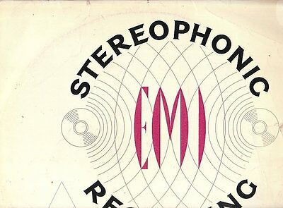 Lp 2333  Stereophonic Recording Demostration Test Record