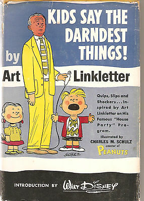Kids Say The Darndest Things- Art Linkletter-1957-3Rd Printing