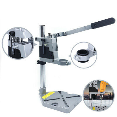 Universal Drill Press Stand with Heavy duty cast metal base & frame