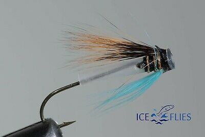 Salmon Fly, Riffle hitch. Hairy Mairy. (3-pack) Pick a size. Fly Fishing Fly