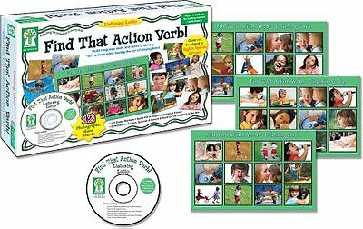 NEW Listening Lotto: Find That Action Verb!
