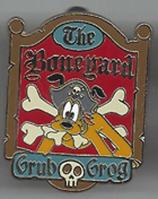 Disney DLR - Pirates of the Caribbean Collection - Pluto GWP Pin