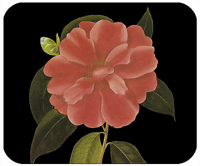 Mouse Pad Custom Personalized Thick Mousepad-Corel Camillia - Add Any Text Free