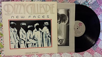 DIZZY GILLESPIE NEW FACES ~ DIGITAL MASTER GRP 1012 B. MARSALIS 1985 NM-