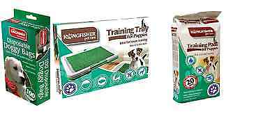 Puppy Dog Training Tray,Absorbent Training Pads ,And Doggy Poop Bags Litter Mat,