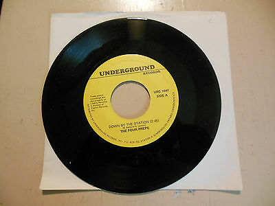 The Four Preps Down By The Station / More Money For You And Me  NEW 45 a
