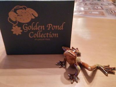 """Golden Pond Collection by Green Tree  """"FROG"""""""