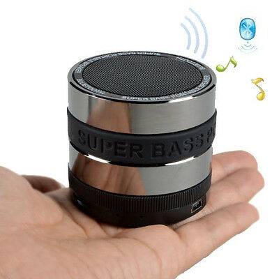 New Bluetooth Wireless Speaker Mini Bass Portable For iPhone Samsung Tablet  PC