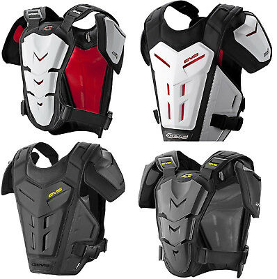 EVS Revo 5 Under Roost  Chest Protector Black or White S/M L/XL Atv Mx Offroad