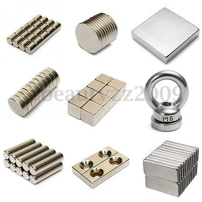 N50 Neodymium Disc Magnets Small & Strong Round Rare Earth 9 size to pick