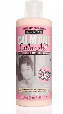Soap And Glory CALM ONE CALM ALL Bubble Bath With Built In Body Lotion 500ml