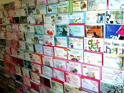 36 QUALITY CARDS OF ANY EVERYDAY TITLE- YOU DECIDE THEN TELL US.! JUST 27.5p,