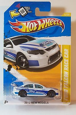 H.W.  FORD FALCON  RACE  CAR   2012  NEW  MODELS  #4
