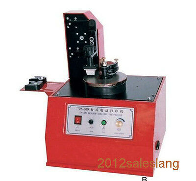 Electric pad printer for bottle,can,cup,mental surface use,batch number printer