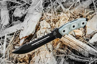 Tops Knives Steel Eagle Fixed Blade Knife TP107C