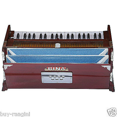 Bina™ No.8  Harmonium/coupler Funct./39 Key/rosewood Color/3¼ Octaves/bag/agd-1
