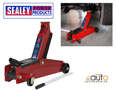 New Sealey 1153CX Trolley Jack 3 Ton Tonne Long Chassis Heavy Duty