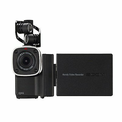 ZOOM Q4 Handheld HD Video Audio Recorder Built-In XY Microphone NEW FREE EMS