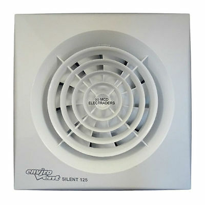 "Envirovent SILENT-125T ""SILENT"" Timer Extractor Fan 5"" 125mm"