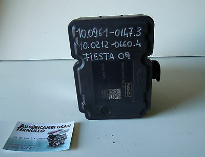 Centralina ABS Ate Ford Fiesta Fusion 1.4 50kw 68cv F6JA 2004 4S61-2M110-CC