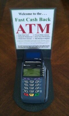 Free Pos. Cashless Atm Machine Or Terminal,plus Free $200 Check.(Free Shipping)