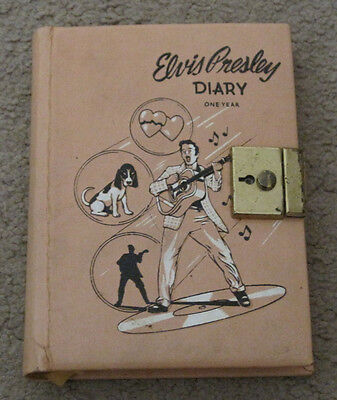 Elvis Presley EPE 1 One Year Diary 1956 RARE