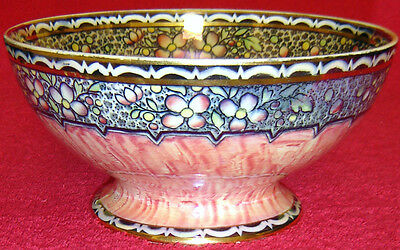 NEW HALL BOUMIER WARE LUSTRE BOWL
