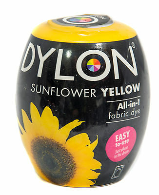 Dylon New Sunflower Yellow Machine Dye No.5 with Added Salt (Discount for Qty)
